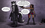 GothicSkunk's 'Tall Dark and Trouble by JasmineAlexandra