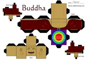 Buddha by Cubee-acres
