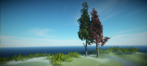 Realistic Tree 13 by RakshiGames