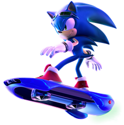 SONIC FREE RIDERS by Fentonxd