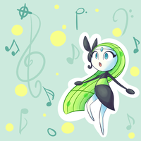 Meloetta by Lemon-Heartss