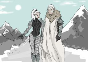 Snow Elves by Sonofchaos1995