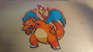 Pokemon #2 - Charizard (redone) by MagicPearls