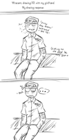 FNAF - Mikecent Comic (Drawing RP) Part 1 by TimelessUniverse