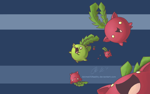 Hoppip Wallpaper by AnimeVSReality