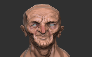 Zbrush Practice 1 by KidneyShake