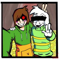 Undertale : Today, i met my best friend by Jupony