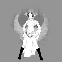 Princess Leia by serkugurlar