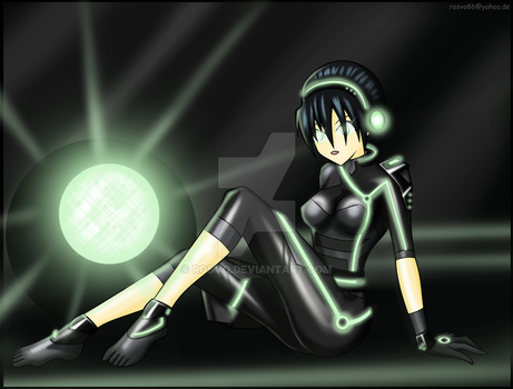 Toph goes Tron by Rosvo