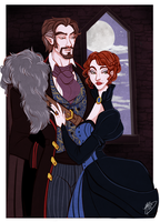 Lord and Lady Briarwood by naomimakesart