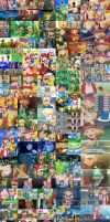 All Amourshipping Moments And Pottery by LunaDude1996