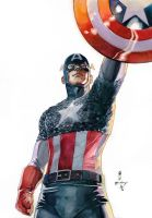 Captain America Classic by Thegerjoos