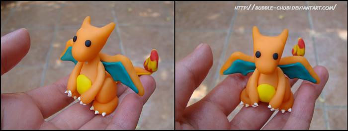 Clay Charizard by Milaby
