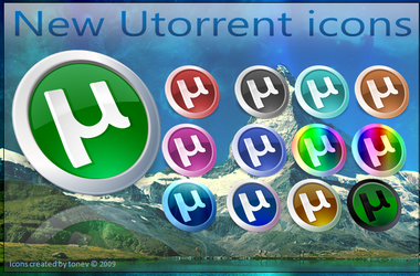 Utorrent icons by tonev