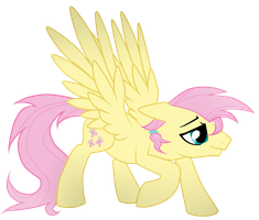Timidtwitter - R63 Fluttershy by Trapiche-Emerald