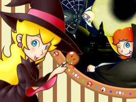 C_Sweets! Treats! Halloween! by Chivi-chivik