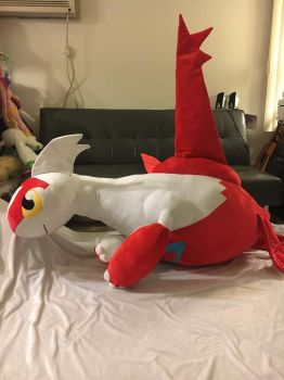 Latias Life Size Plush by KLPlushies