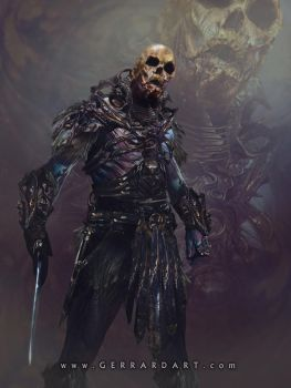 SKELETOR : GERRARDIAN VERSION by Sallow
