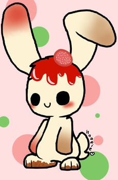 Kawaii CheeseCake Bunny by DaniGummyBear