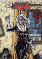 Black Cat - Fleer Ultra Spider-Man by tonyperna