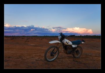 The First Time on a Motorcycle by eehan