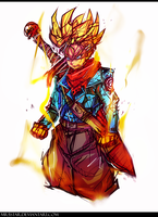 Future Trunks! by Mr5star