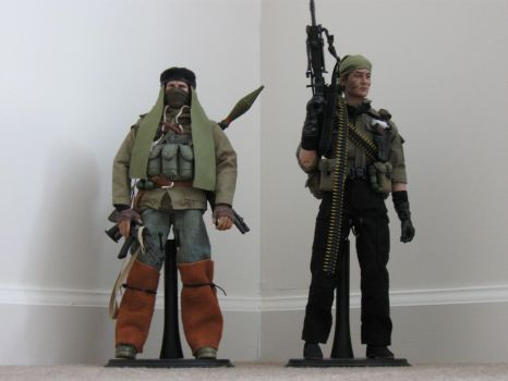 Robert Morris and Tunnel Rat by RoleKeeper