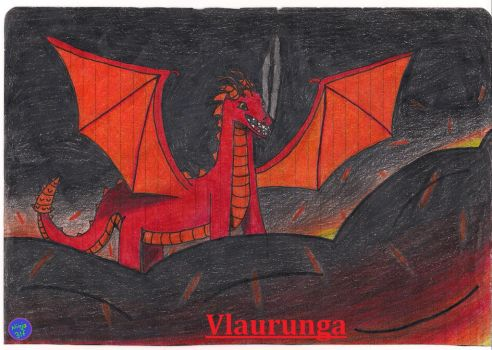 Vlaurunga The Fire Dragon by Ninja3lf