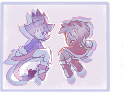 Simply Blaze and Amy by Jalin-Atsuko-Ling