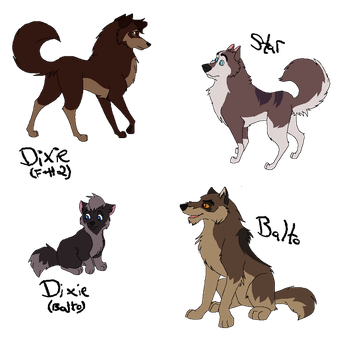 Steele Pups -- Open by Witch-Doctais46