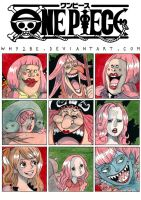 ONE PIECE: Big Mom and Daughters by Why2be
