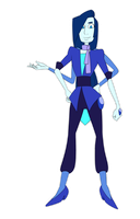 [Fusion] Blue Spinel by auto-manic
