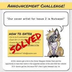 CSZ - Issue 2 Cover Artist: NUTCASE by Temrin