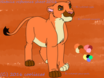 Natalie reference sheet 2016 by Oklahoma-Lioness