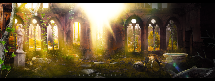 The Ancient Secret Garden by itsdanielle91