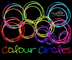 Colour Circles by MeyddelisPassioned