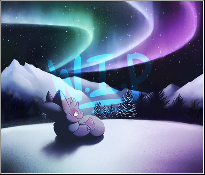 Northern Lights (WIP) by pupom