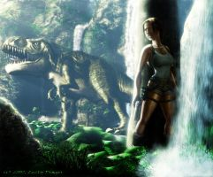 Lara and... by Zlydoc
