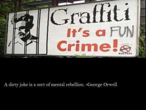 Orwell on Jokes by Skargill