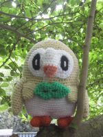 Rowlet - the cutest Amigurumi ever by TallGrassArt