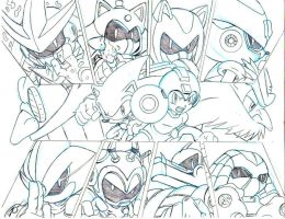 Sonic Megaman And The 8 robot masters teaser by trunks24