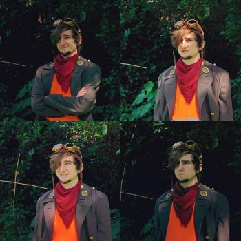 Deponia Rufus Cosplay by tedil