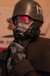 Fallout: New Vegas NCR veteran ranger cosplay by MaxBdn