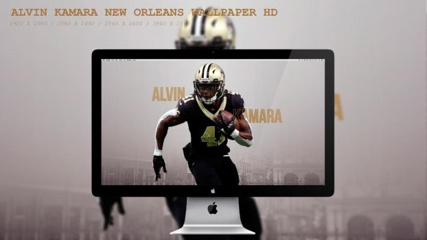 Alvin Kamara New Orleans Wallpaper HD by BeAware8