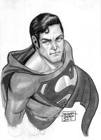 Superman - Copic Marker Test by edtadeo