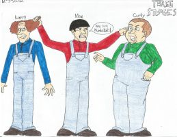 Three Stooges by TheFranksterChannel