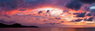 Borneo sunset by JuhaniViitanen