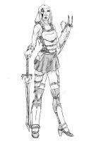 Barbarian Angeline by Greyryder