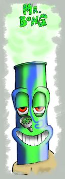 Mr Bong by Crilly