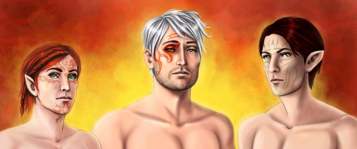 Dragon age boys by Zardra